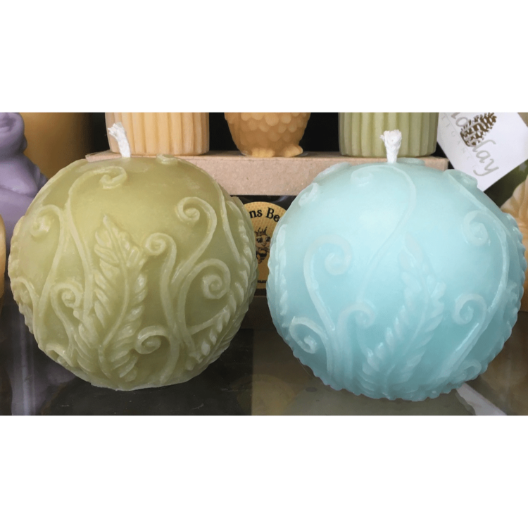 Coloured Beeswax Decorative Ball beeswax candles