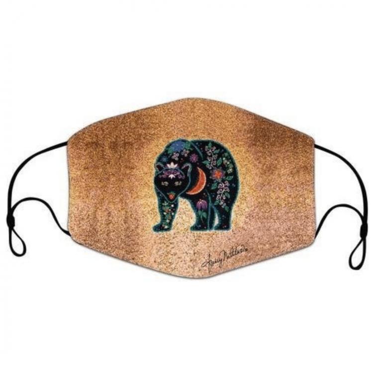 Dream Weaver Bear face mask