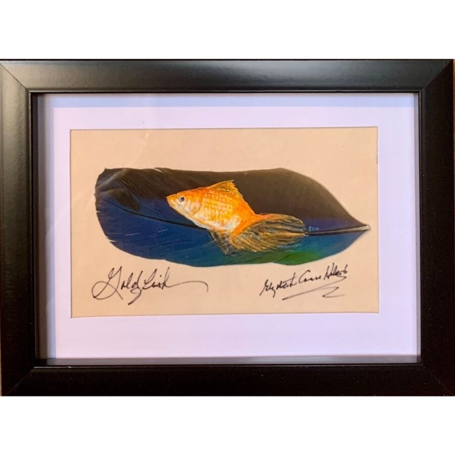 Goldfish by artist Betty Hebert