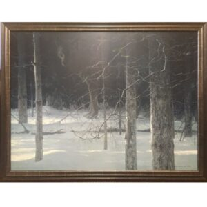 Midnight Black Wolf by artist Robert Bateman