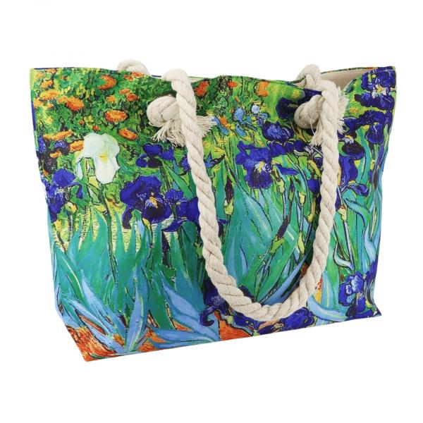 Vincent Van Gogh Irises shoulder bag