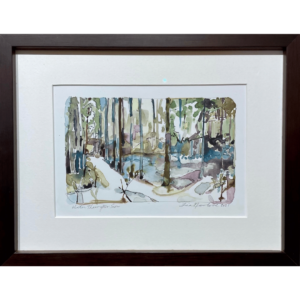 Winter Thaw original art by artist Tina Newlove