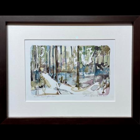 Winter Thaw original art by artist Tina Newlove