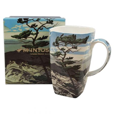 A.J. Casson White Pines Art Grande Mug
