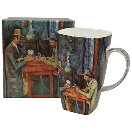Cezanne Card Players Art Grande Mug