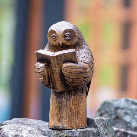 Enlightened Owl - Small statue Castart Studios collection