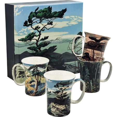 Group of Seven Art Mug set of 4
