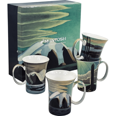 Harris Art Mug set of 4