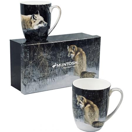 Robert Bateman Foxes Mug set of 2