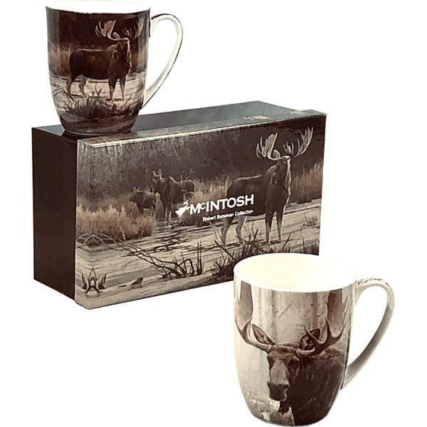 Robert Bateman Moose Mug set of 2