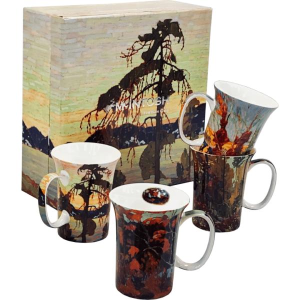Tom Thomson Mug set of 4