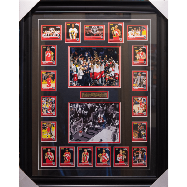 Toronto Raptors 2019 champions framed