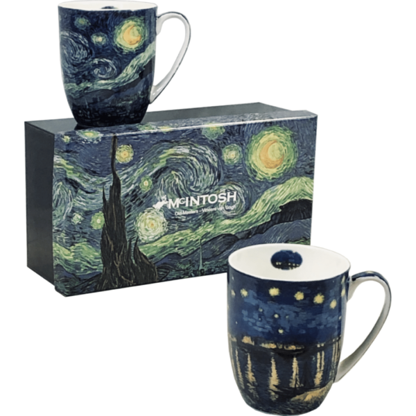 Vincent Van Gogh Mug Set of 2