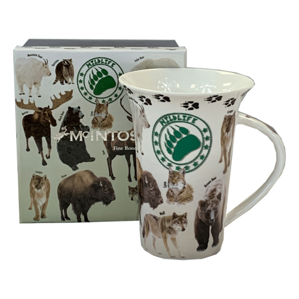 Wildlife Mug available at The Gallery Upstairs